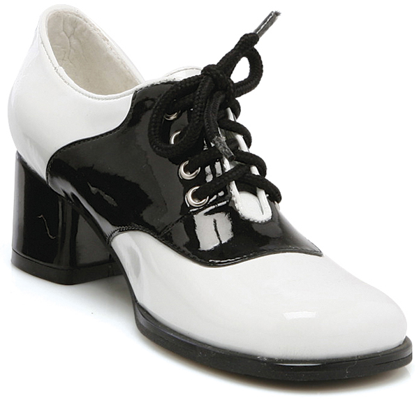 Black And White Saddle Shoe